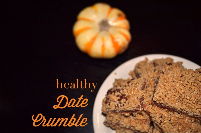 date crumble