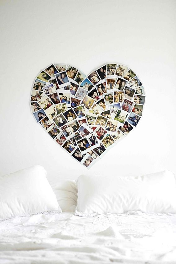 collage heart