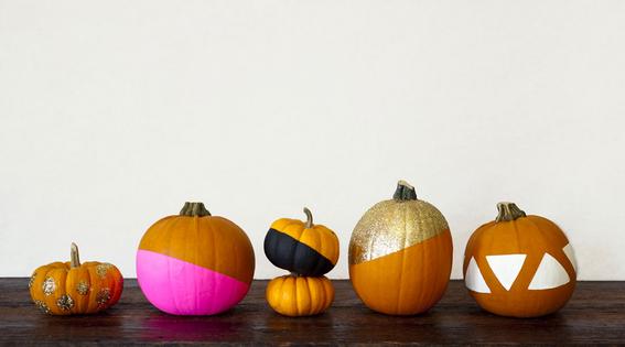no carve pumpkins